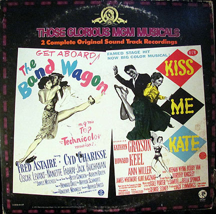 Various Those Glorious MGM Musicals - The Band Wagon / Kiss Me Kate Vinyl
