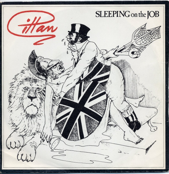 Gillan Sleeping On The Job Vinyl