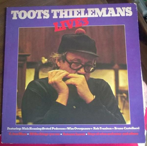 Toots Thielemans Live 3 Vinyl