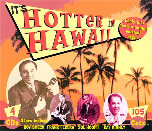 Various It's Hotter In Hawaii CD