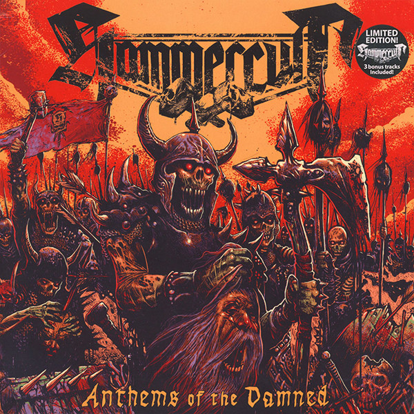 Hammercult Anthems Of The Damned Vinyl