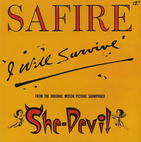 Safire I Will Survive