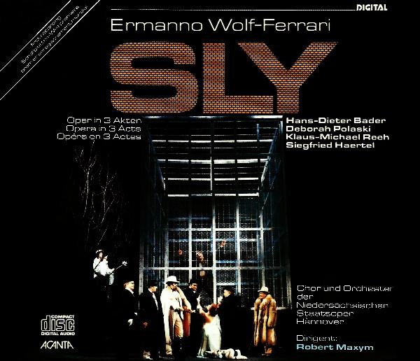 Wolf-Ferrari - Hans-Dieter Bader, Deborah Polaski, Klaus-Michael Reeh, Siegfried Haertel Sly