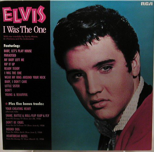 Presley, Elvis I Was The One Vinyl