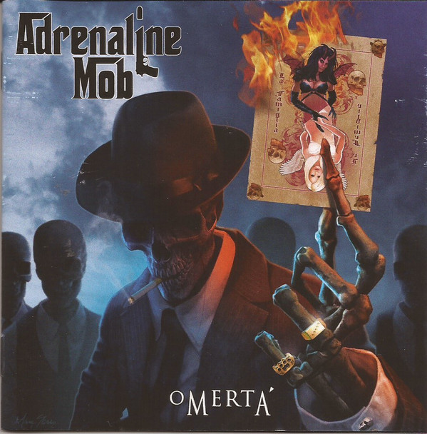Adrenaline Mob Omerta CD