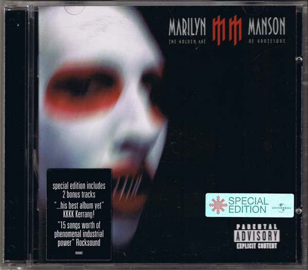 Manson Marilyn The Golden Age Of Grotesque