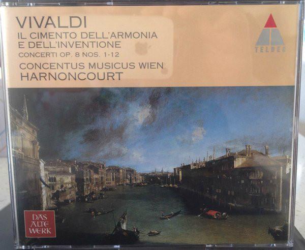Vivaldi - Concentus Musicus Wien, Nikolaus Harnoncourt Il Cimento Dell'Armonia E Dell'Inventione