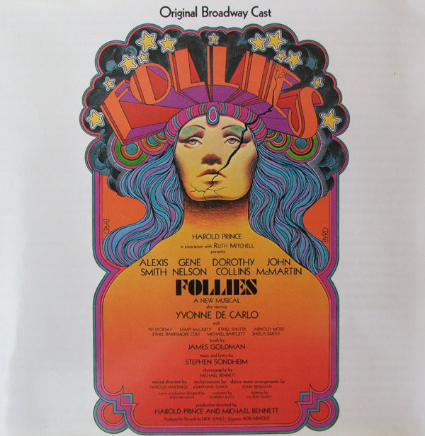 Original Broadway Cast / Stephen Sondheim Follies (Original Cast Recording)  Vinyl