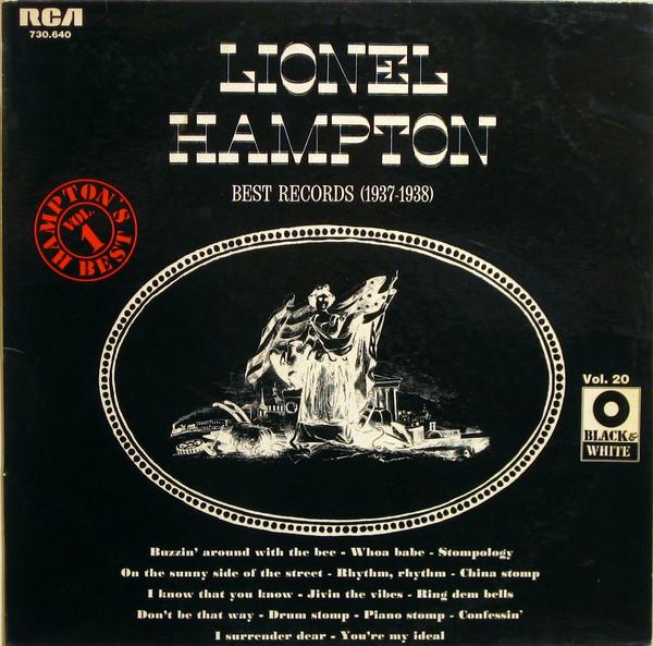 Hampton, Lionel Lionel Hampton's Best Records (1937-1938) Vinyl