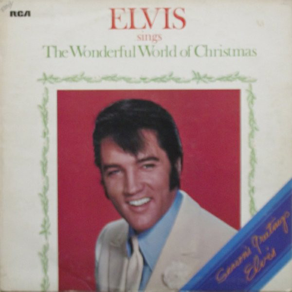 Presley, Elvis Elvis Sings The Wonderful World Of Christmas Vinyl