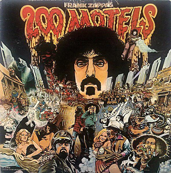 Frank Zappa 200 Motels Vinyl