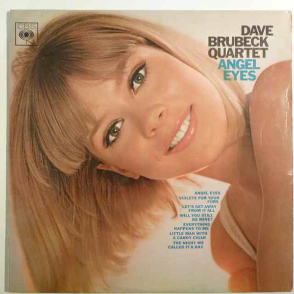 Dave Brubeck Quartet Angel Eyes Vinyl
