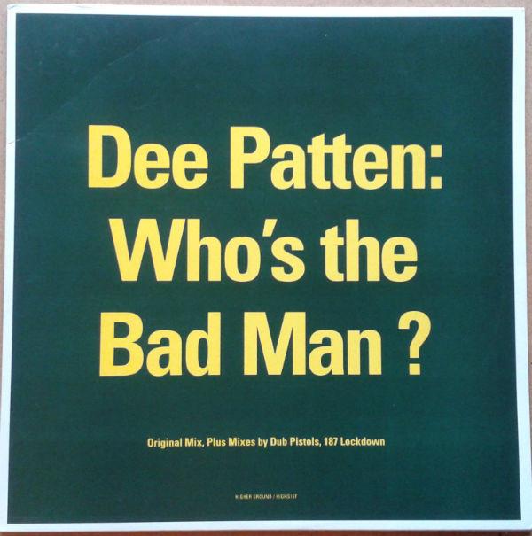 Patten, Dee Who's The Bad Man? Vinyl