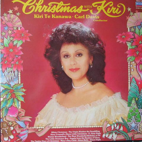 Kanawa, Kiri Te Christmas With Kiri