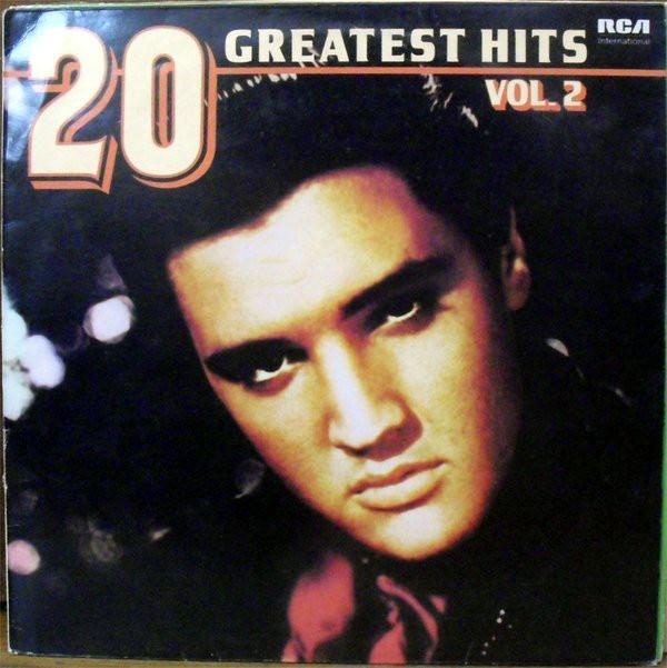 Presley, Elvis 20 Greatest Hits Vol. 2 Vinyl