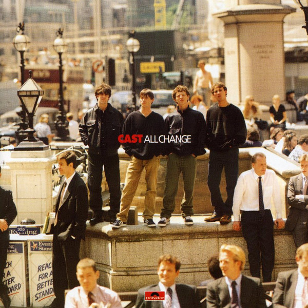 Cast All Change CD
