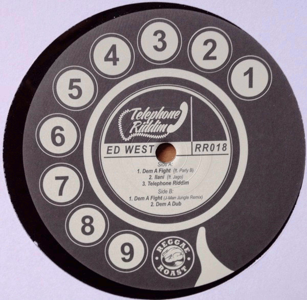West, Ed Telephone Riddim Vinyl