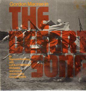 MacCrae, Gordon The Desert Song Vinyl