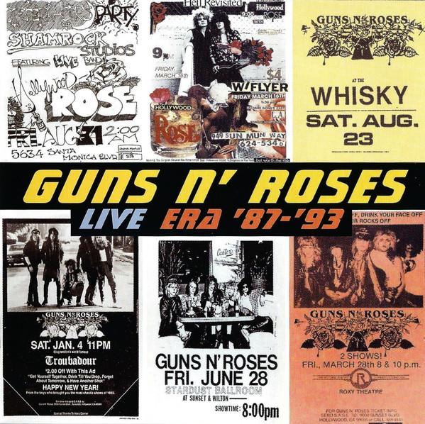 Guns N' Roses Live Era '87-'93 Vinyl