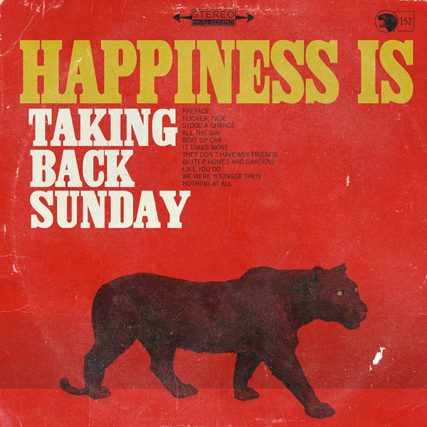 Taking Back Sunday Happiness Is Vinyl