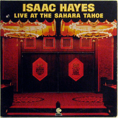 Hayes, Isaac Live At The Sahara Tahoe Vinyl