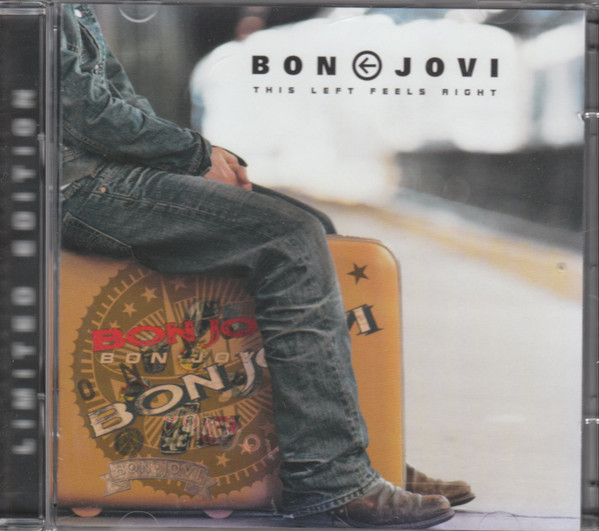 Bon Jovi This Left Feels Right - CD/DVD