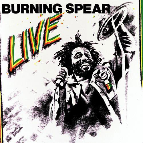 Burning Spear Burning Spear Live Vinyl
