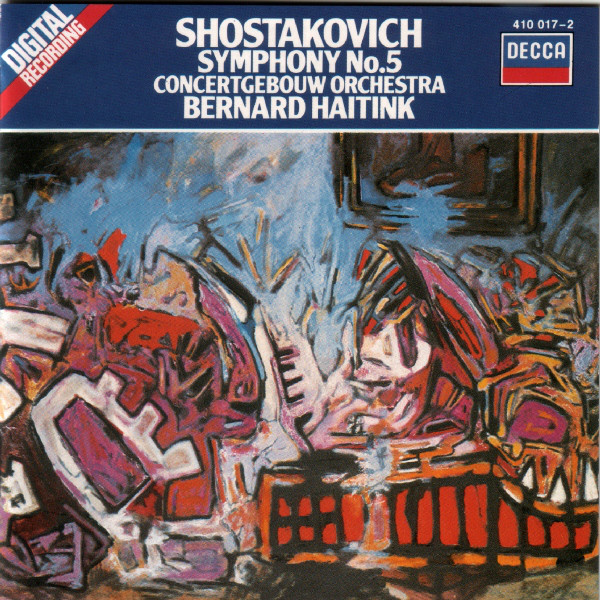 Shostakovich - Bernard Haitink Symphony No. 5 Vinyl