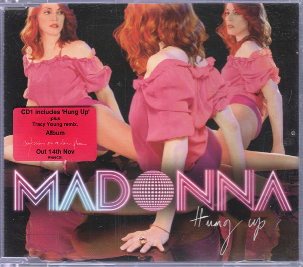 Madonna Hung Up CD