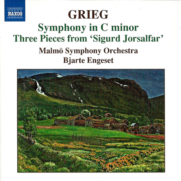 Grieg - Bjarte Engeset Symphony in C minor / Three pIeces from 'Sigurd Jorsalfar' Vinyl