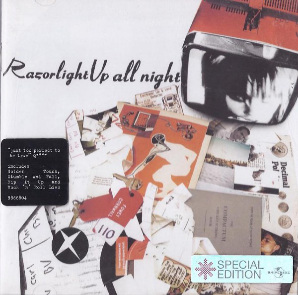 Razorlight Up All Night CD