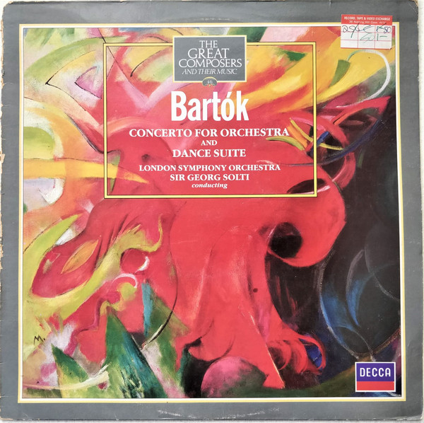 Bartok - Georg Solti Concerto For Orchestra and Dance Suite Vinyl