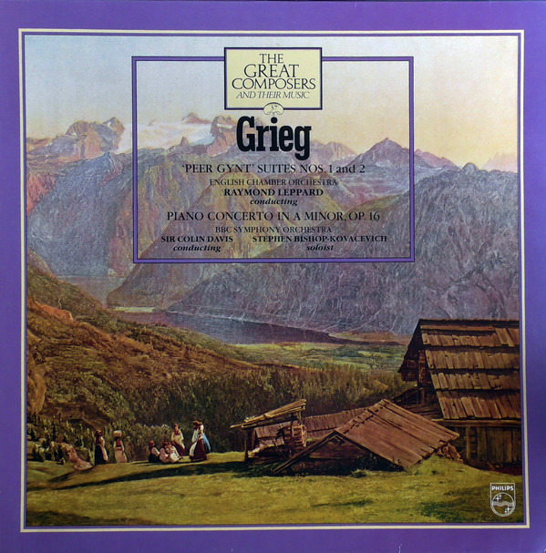 Grieg - Raymond Leppard, Colin Davis, Stephen Bishop Kovacevich Peer Gynt Suites Nos. 1 and 2 Vinyl