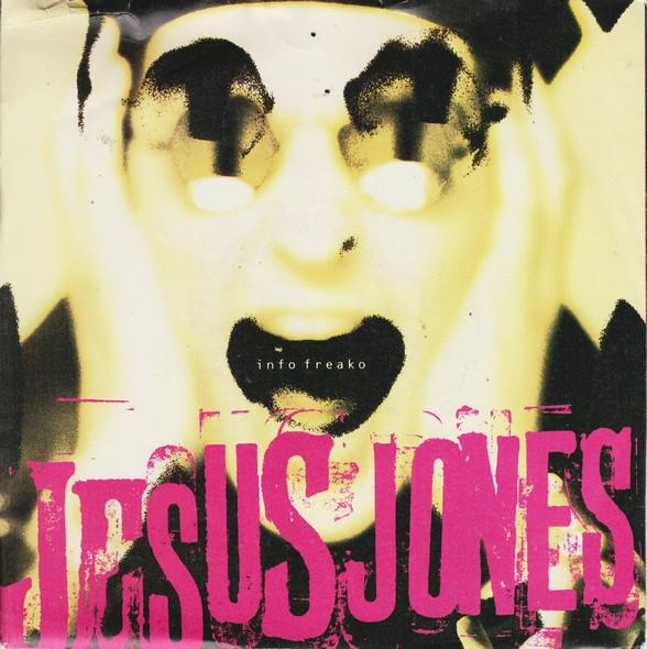 Jesus Jones Info Freako Vinyl