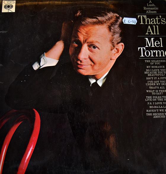 Torme, Mel A Lush, Romantic Album That's All