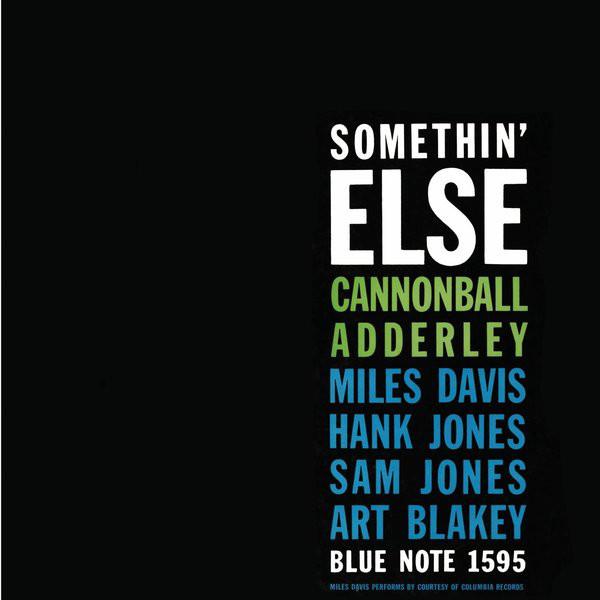 Cannonball Adderley Somethin' Else Vinyl