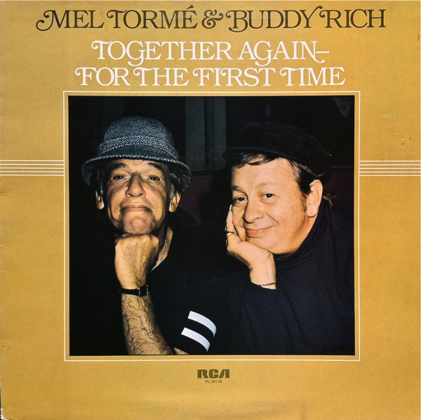 Mel Tormé & Buddy Rich Together Again - For The First Time Vinyl