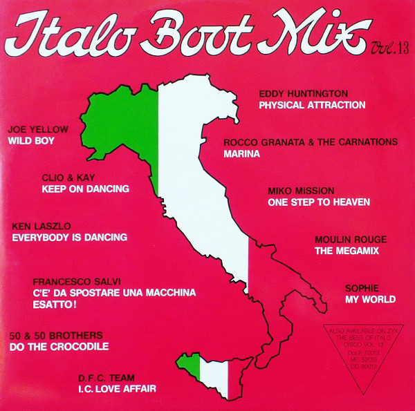 Various Italo Boot Mix Vol. 13 Vinyl