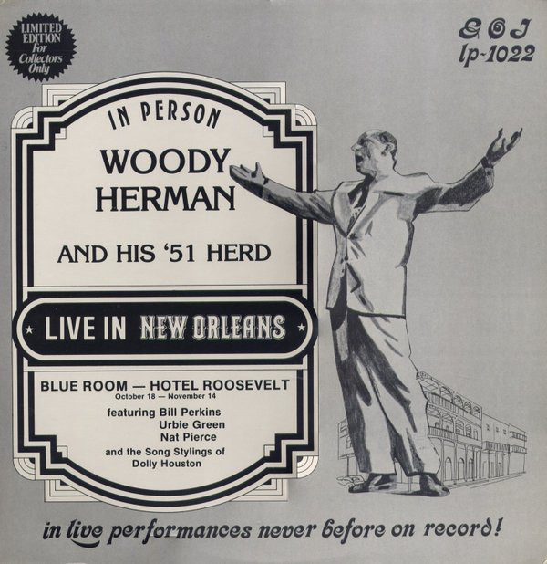 Herman, Woody Live In New Orleans Vinyl