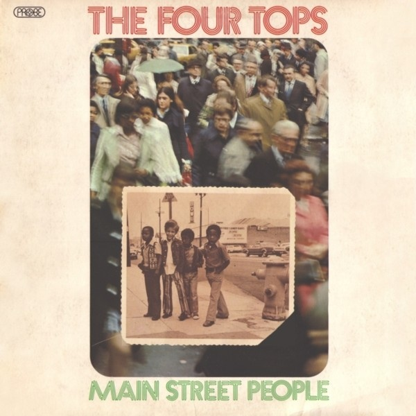 The Four Tops Main Street People Vinyl