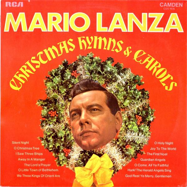 Lanza, Mario Christmas Hymns & Carols Vinyl