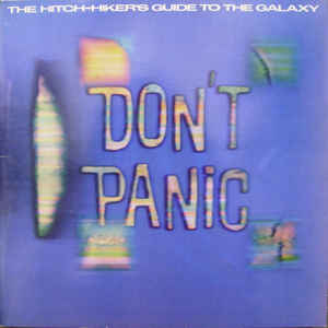 Douglas, Adams The Hitch Hikers Guide To The Galaxy Vinyl