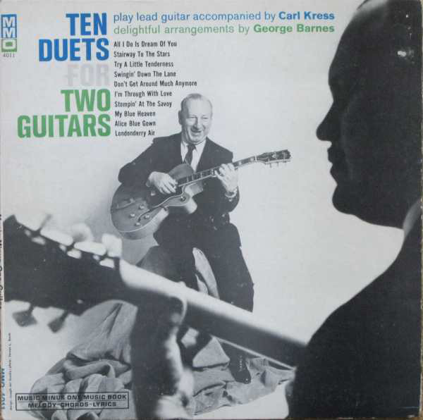 George Barnes And Carl Kress Ten Duets For Two Guitars