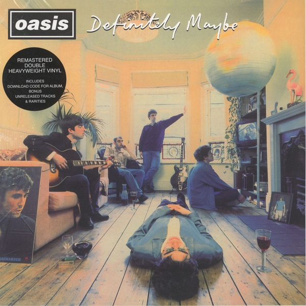 Oasis Definitely Maybe Vinyl