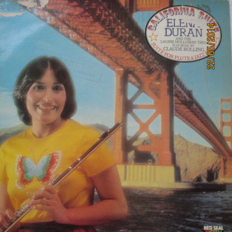 Elena Duran And The Laurie Holloway Trio  California Suite / Suite For Flute And Jazz Piano Vinyl