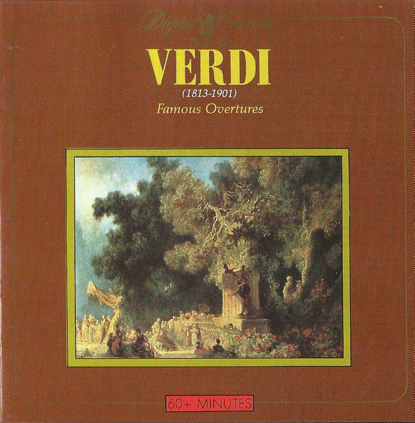 Verdi Famous Overtures Vinyl