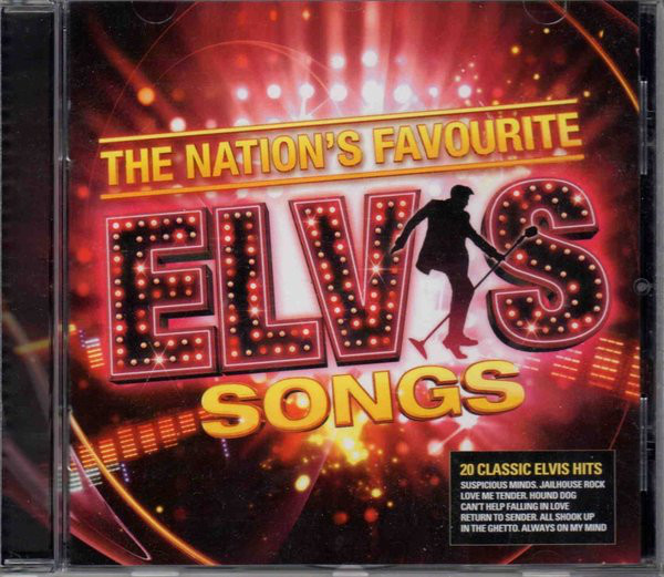 Presley, Elvis The Nation's Favourite Elvis Songs CD