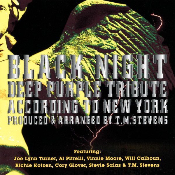 Deep Purple (Various) Black Night - Deep Purple Tribute According To New York Vinyl