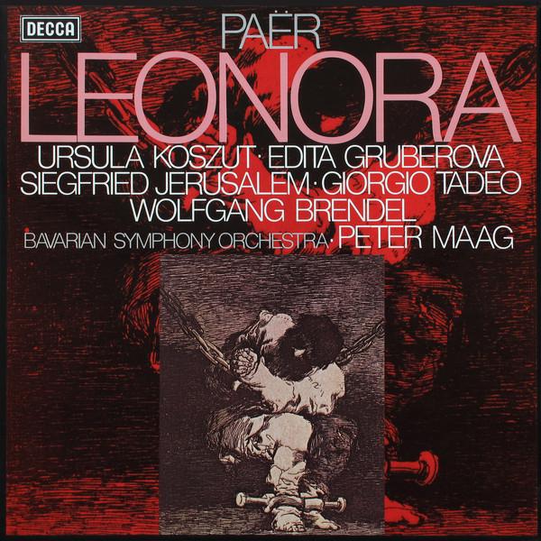 Paer - Koszut, Gruberova, Jerusalem, Tadeo, Brendel, Peter Maag Leonora Vinyl