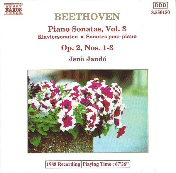 Beethoven - Jeno Jando Piano Sonatas, Vol. 3 CD